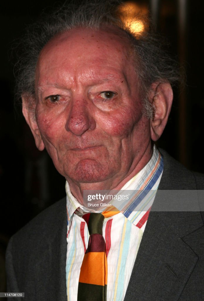 Brian Friel during Opening Night for Brian Friel's 'Faith Healer' on Broadway - May 4, 2006 at The Booth Theater in New York City, New York, United States.