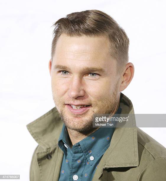 Brian Geraghty arrives at Oakley's 'Disruptive by Design' launch event held at Red Studios on February 24 2014 in Los Angeles California