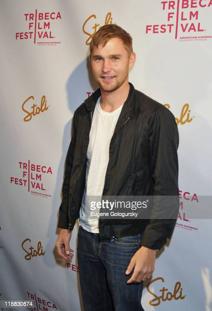 Brian Geraghty attends the after party for the premiere of 'Meskada' during the 9th Annual Tribeca Film Festival at Libation on April 22 2010 in New...