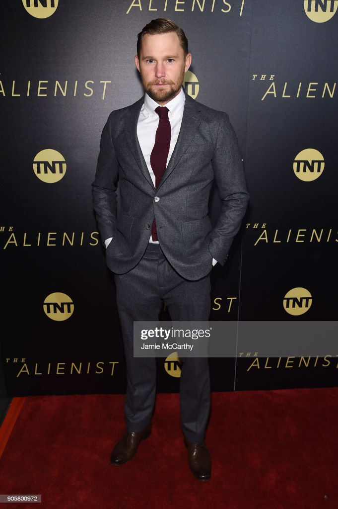 Brian Geraghty attends the premiere of TNT's 'The Alienist' at iPic Cinema on January 16, 2018 in New York City.