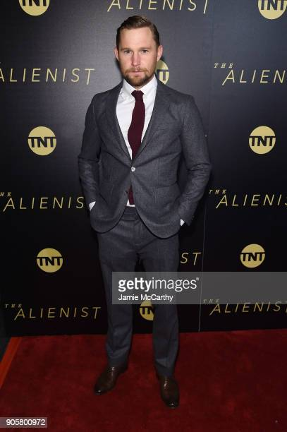 Brian Geraghty attends the premiere of TNT's The Alienist at iPic Cinema on January 16 2018 in New York City
