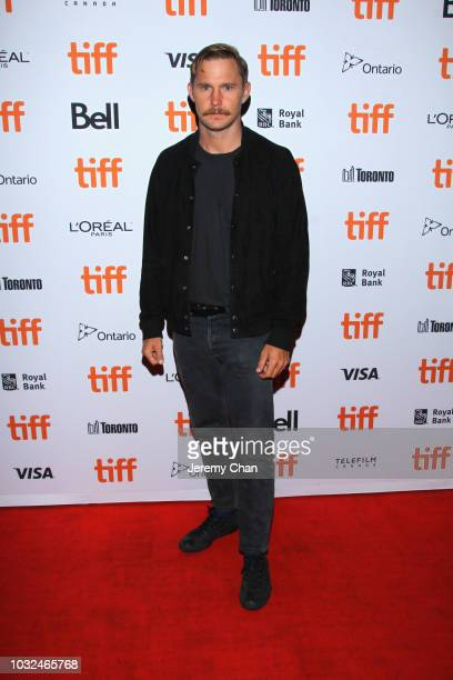 Brian Geraghty attends the The Standoff At Sparrow Creek premiere during 2018 Toronto International Film Festival at Ryerson Theatre on September 12...