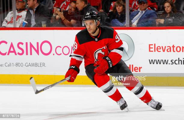 Brian Gibbons of the New Jersey Devils in action against the St Louis Blues  on November f2b238433