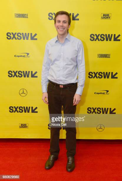 Brian Goldsmith attends Katie Couric podcast LIVE The Muslim Next Door during SXSW at Austin Convention Center on March 11 2018 in Austin Texas