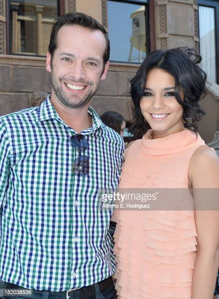 Brian Gott Publisher Variety and Vanessa Hudgens arrive at Variety's Power of Youth presented by Cartoon Network held at Paramount Studios on...