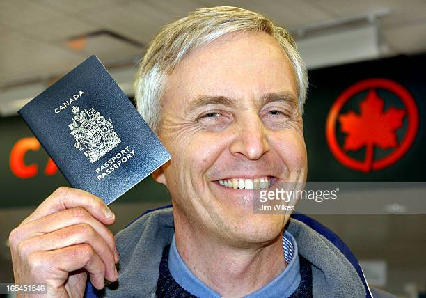 PASSPORT 1 / 01/23/07 Brian Gray of Hamilton arrived at Pearson International Airport with passport in hand ready for new regulations requiring air...