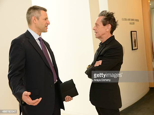 Brian Grazer Academy Awardwinning producer and Joe Cohen Cohead of CAA/Television Department attend 'A Leading Role How Film and TV Can Change The...