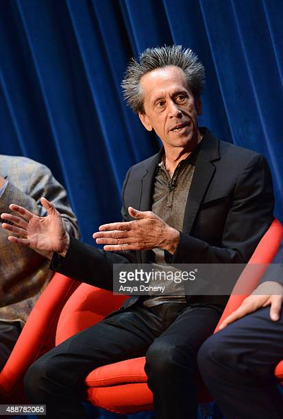 Brian Grazer Academy Awardwinning producer speaks onstage during 'A Leading Role How Film and TV Can Change The Lives of Children' hosted by the...