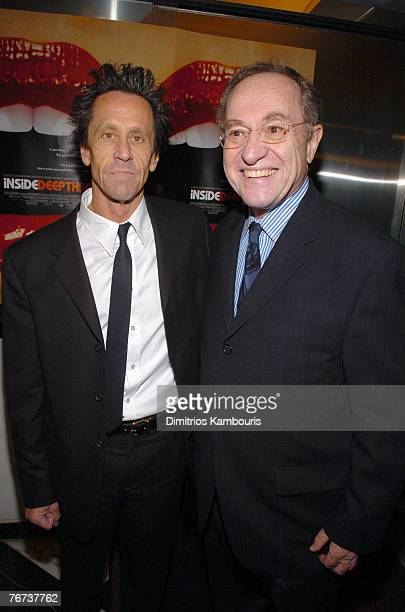 Brian Grazer and Alan Dershowitz