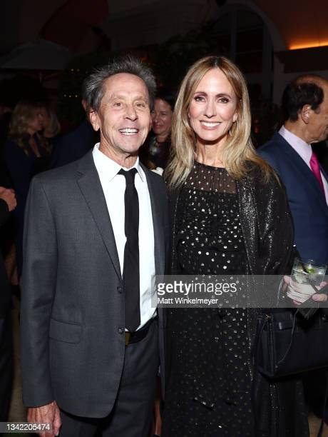 Brian Grazer and Chairman of Entertainment, Walt Disney Television Dana Walden attend the YES 20th Anniversary Gala on September 23, 2021 in Los...