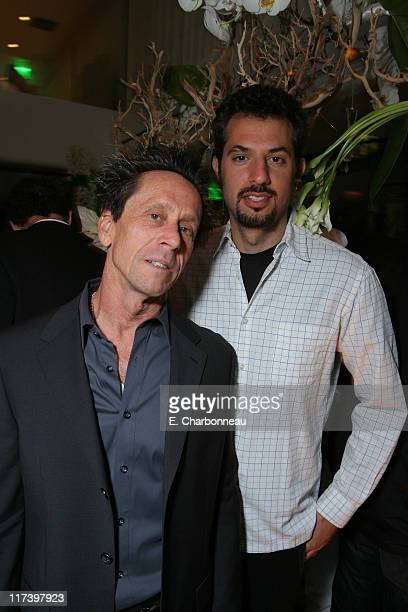 Brian Grazer and Guy Oseary during Pharrell Williams Dinner in celebration of the Los Angeles Film Festival Hosted by Bombay Sapphire at Mr Chows in...