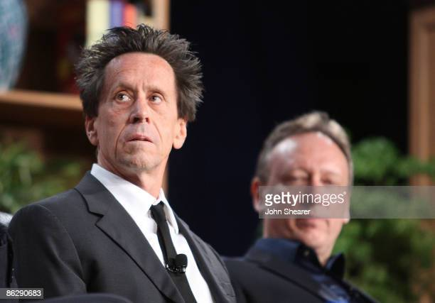 Brian Grazer and Jon Miller attend the Milken Institute Global Conference at the Beverly Hilton Hotel on April 29 2009 in Beverly Hills California