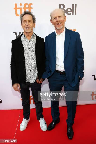 Brian Grazer and Ron Howard attend the Once Were Brothers Robbie Robertson And The Band premiere during the 2019 Toronto International Film Festival...