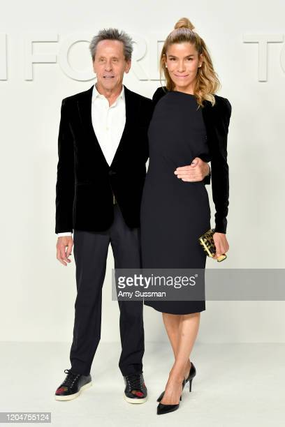 Brian Grazer and Veronica Smiley attend the Tom Ford AW20 Show at Milk Studios on February 07, 2020 in Hollywood, California.