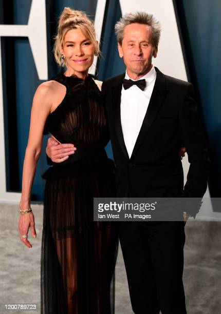 Brian Grazer and Veronica Smiley attending the Vanity Fair Oscar Party held at the Wallis Annenberg Center for the Performing Arts in Beverly Hills,...