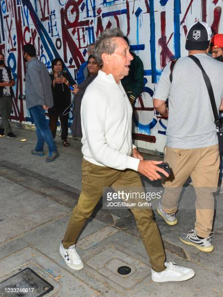 Brian Grazer is seen on June 02, 2021 in Los Angeles, California.
