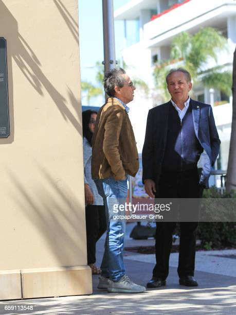 Brian Grazer is seen on March 27 2017 in Los Angeles California