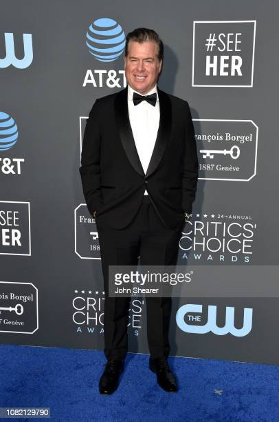Brian Hayes Currie attends the 24th Annual Critics' Choice Awards at Barker Hangar on January 13 2019 in Santa Monica California