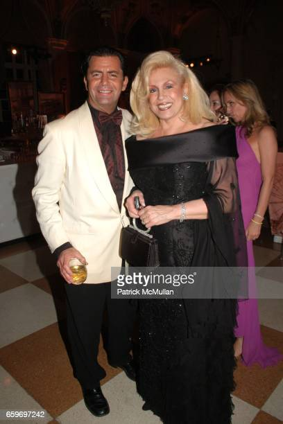 Brian Heir and Harriette Rose Katz attend LARRY HERBERT 80TH Birthday Celebration at The Breakers Palm Beach on March 28 2009 in Palm Beach Florida