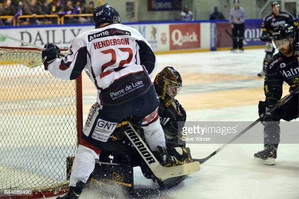 Brian HENDERSON Rouen / Angers Finale Ligue Magnus Photo Dave Winter / Icon Sport