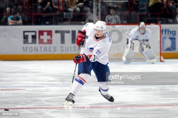 Brian HENDERSON Hockey sur Glace France / Canada Match amical Palais Omnisport Paris Bercy