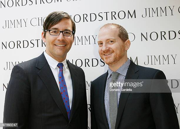 Brian Henke President of Jimmy Choo USA and Josh Shulman CEO of Jimmy Choo attend Nordstrom and Tamara Mellon of Jimmy Choo Event 24/7 at the Polo...