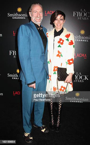 Brian Henson and Mia Sara arrive at LAFrock Stars Los Angeles Screening at LACMA on March 5 2013 in Los Angeles California