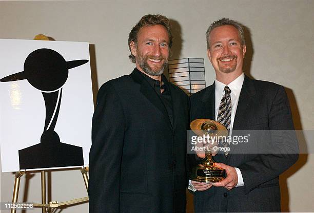 Brian Henson and Rockne S O'Bannon winners for Best Television Presentation for 'Farscape Peacekeeper Wars'