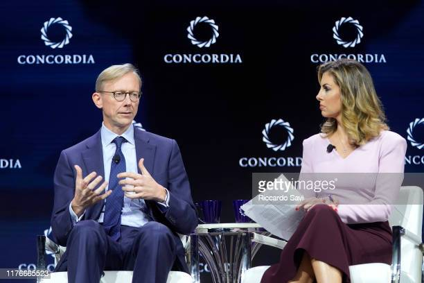 Brian Hook US Special Representative For Iran And Senior Advisor To The Secretary Us Department Of State and Morgan Ortagus US Department Of State...