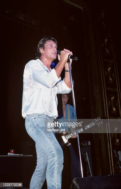 Brian Howe and Mick Ralphs performing with Bad Company at The Ritz in New York City on June 23 1987
