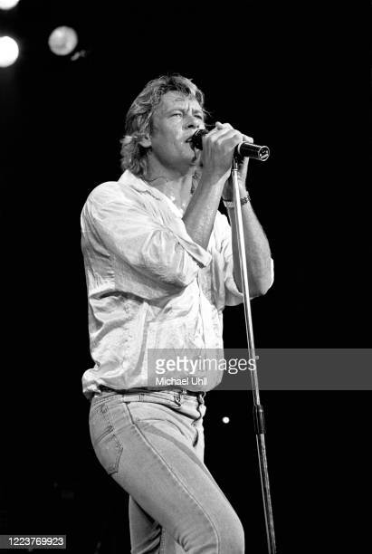 Brian Howe performing with Bad Company at The Ritz in New York City on June 23 1987
