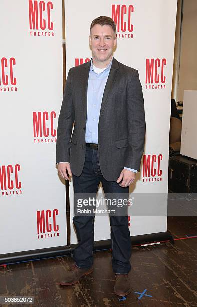 Brian Hutchison attends Smokefall Press Preview at MTC Rehearsal Studios on January 7 2016 in New York City