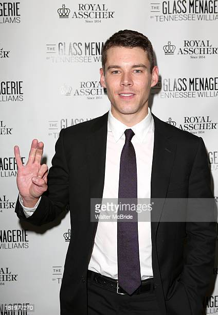 Brian J Smith attends the Broadway Opening Night After Party for 'The Glass Menagerie' at the Redeye Grill on September 26 2013 in New York City
