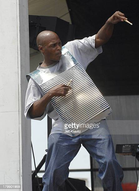 Brian Jack and the Zydeco Gamblers during 38th Annual New Orleans Jazz & Heritage Festival Presented by Shell - Brian Jack and the Zydeco Gamblers at...
