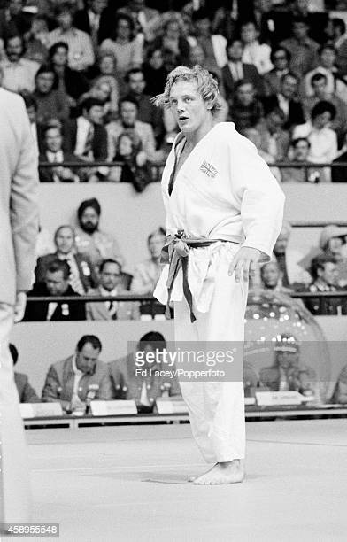 Brian Jacks of Great Britain bronze medallist in the men's middleweight 80 kg judo event during the Summer Olympic Games in Munich circa September...