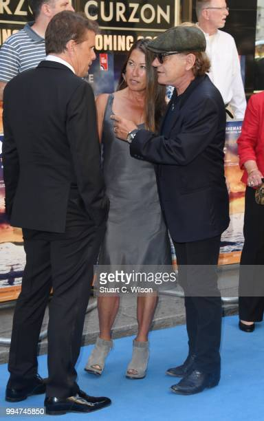 Brian Johnson attends the World Premiere of Spitfire at The Curzon Mayfair on July 9 2018 in London England