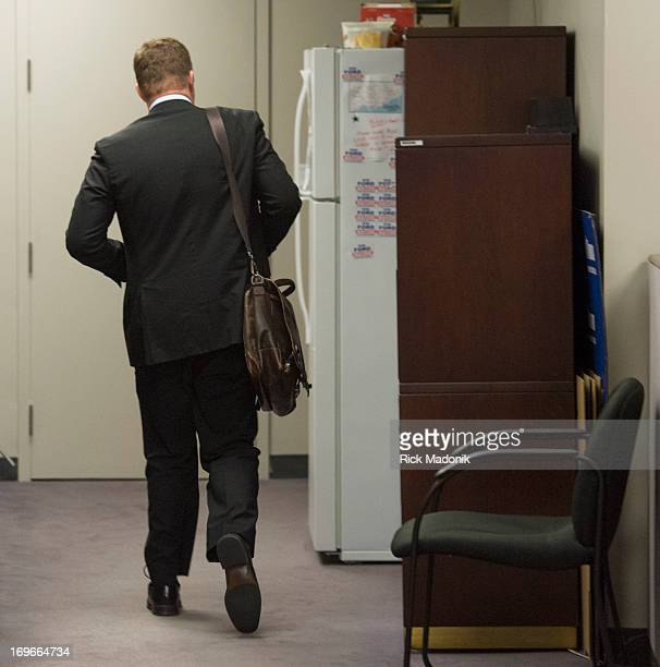 Brian Johnston leaving the Mayor's office after resigning Toronto Mayor Rob Ford arrives at City Hall Ford is currently facing allegations that he...