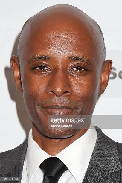 Brian Keith Gamble attends the TV and new media festival premiere of 'Silver Case' at Raleigh Studios on September 16 2012 in Los Angeles California