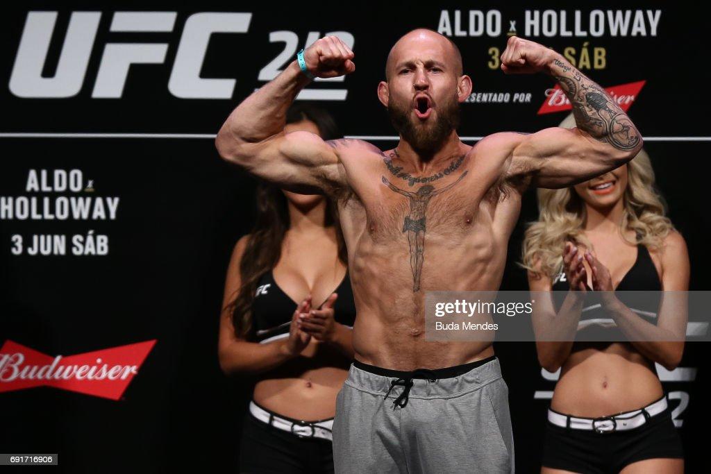UFC 212: Weigh-in : Nieuwsfoto's