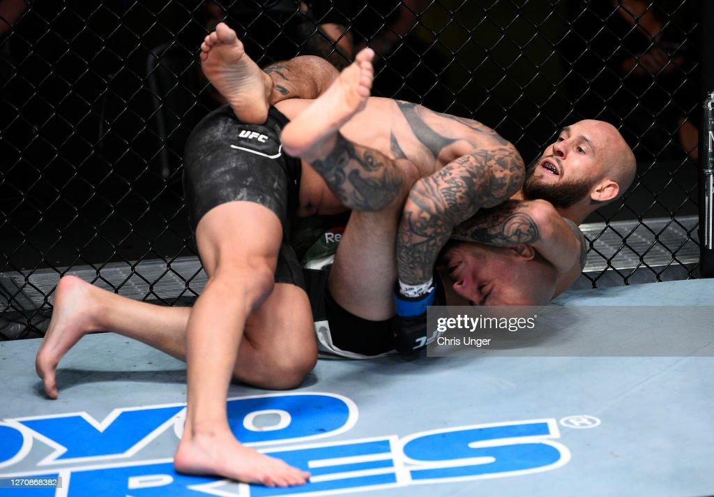 UFC Fight Night: Kelleher v Rodriguez : News Photo