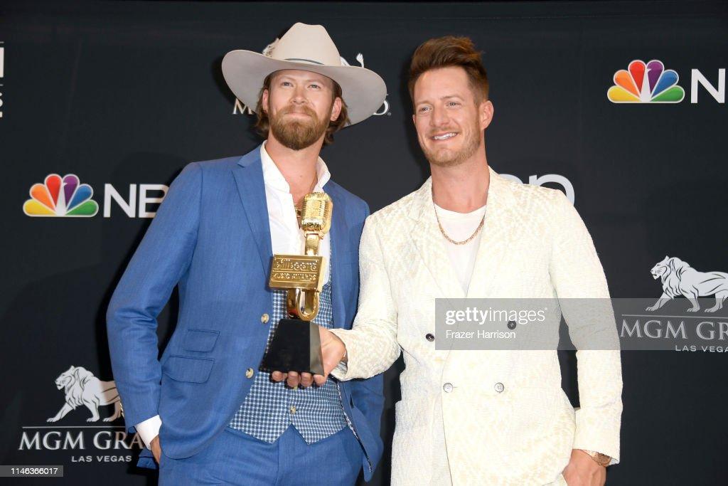 2019 Billboard Music Awards - Press Room : News Photo