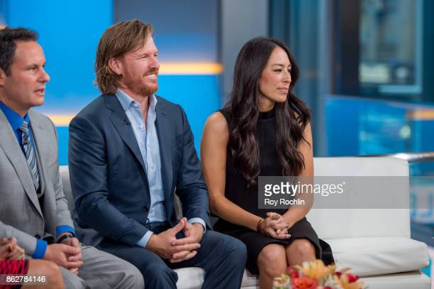 Brian Kilmeade discuss the book 'Capital Gaines' and the ending of the show 'Fixer Upper' with Chip and Joanna Gaines as they visit 'Fox Friends' at...