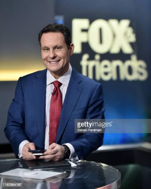 """Brian Kilmeade hosts """"FOX & Friends"""" at FOX Studios on December 09, 2019 in New York City."""