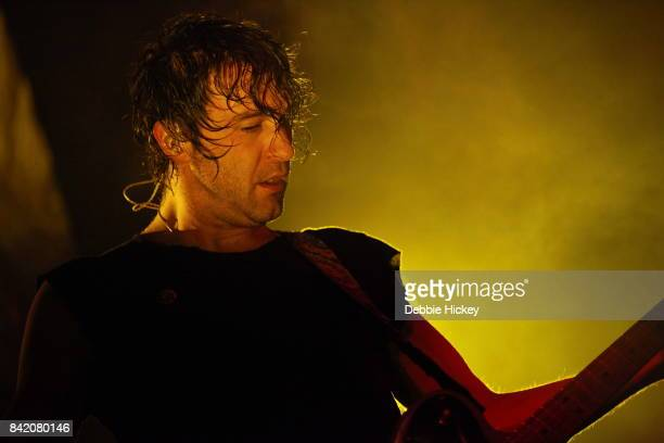 02 Brian King of Japandroids performs at Electric Picnic Festival at Stradbally Hall Estate on September 2 2017 in Laois Ireland Photo by Debbie...
