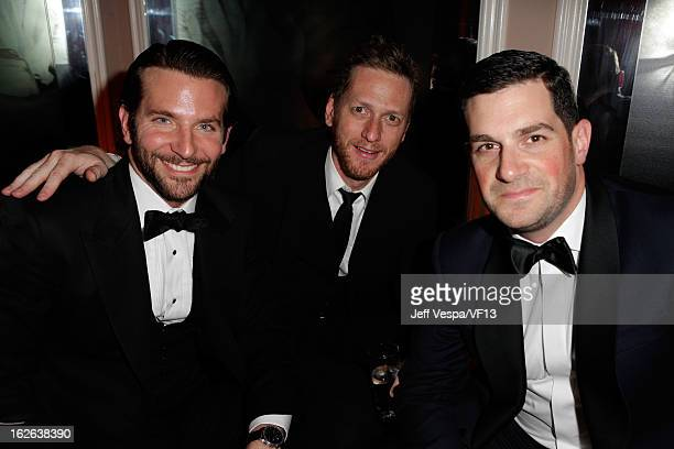 Brian Klugman and David Bugliari attends the 2013 Vanity Fair Oscar Party hosted by Graydon Carter at Sunset Tower on February 24 2013 in West...