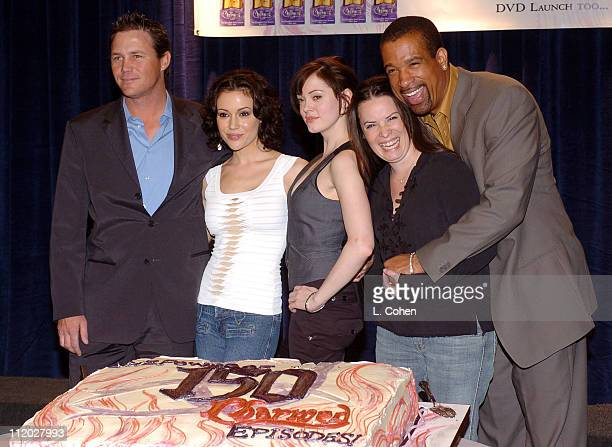 Brian Krause Alyssa Milano Rose McGowan Holly Marie Combs and Dorian Gregory