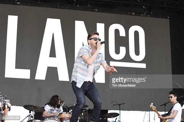 Brian Lancaster of Lanco performs during the Tortuga Music Festival on April 17 2016 in Fort Lauderdale Florida