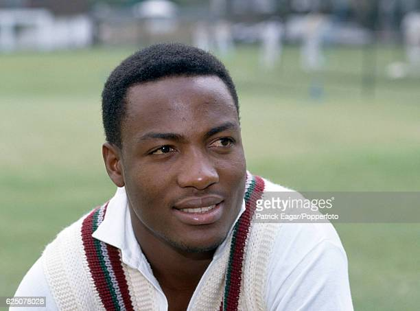 Brian Lara of West Indies during the 1991 tour of England, circa May 1991.