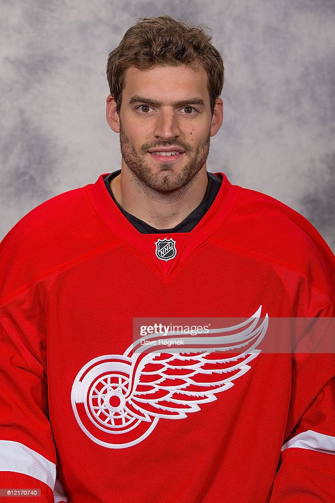 Detroit Red Wings Headshots
