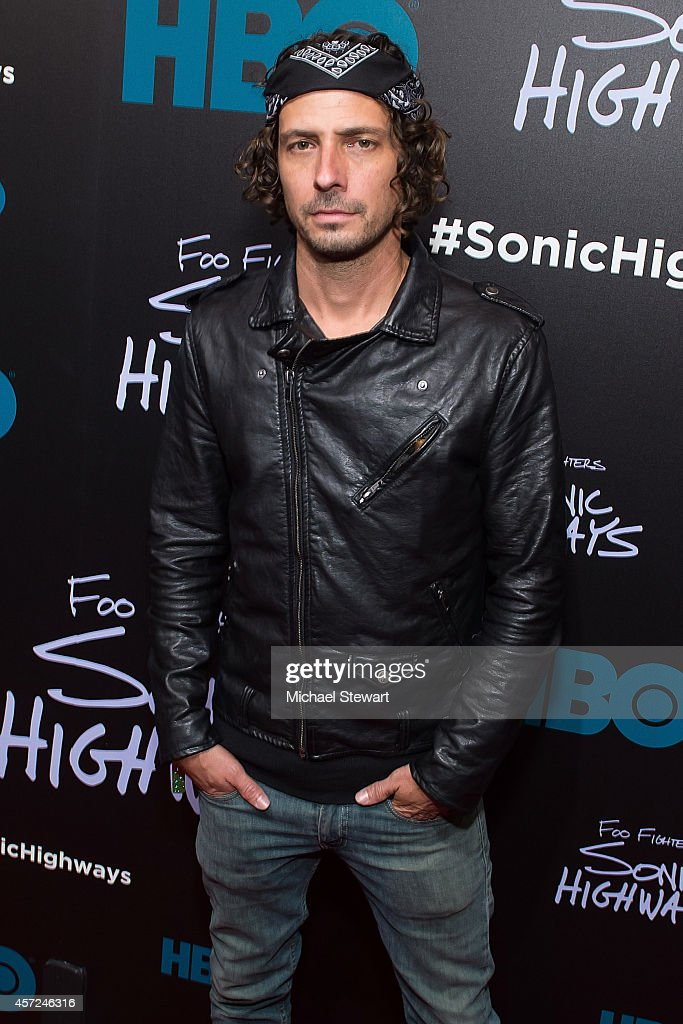Brian Lee Brown attends 'Foo Fighters: Sonic Highways' New York Premiere at Ed Sullivan Theater on October 14, 2014 in New York City.